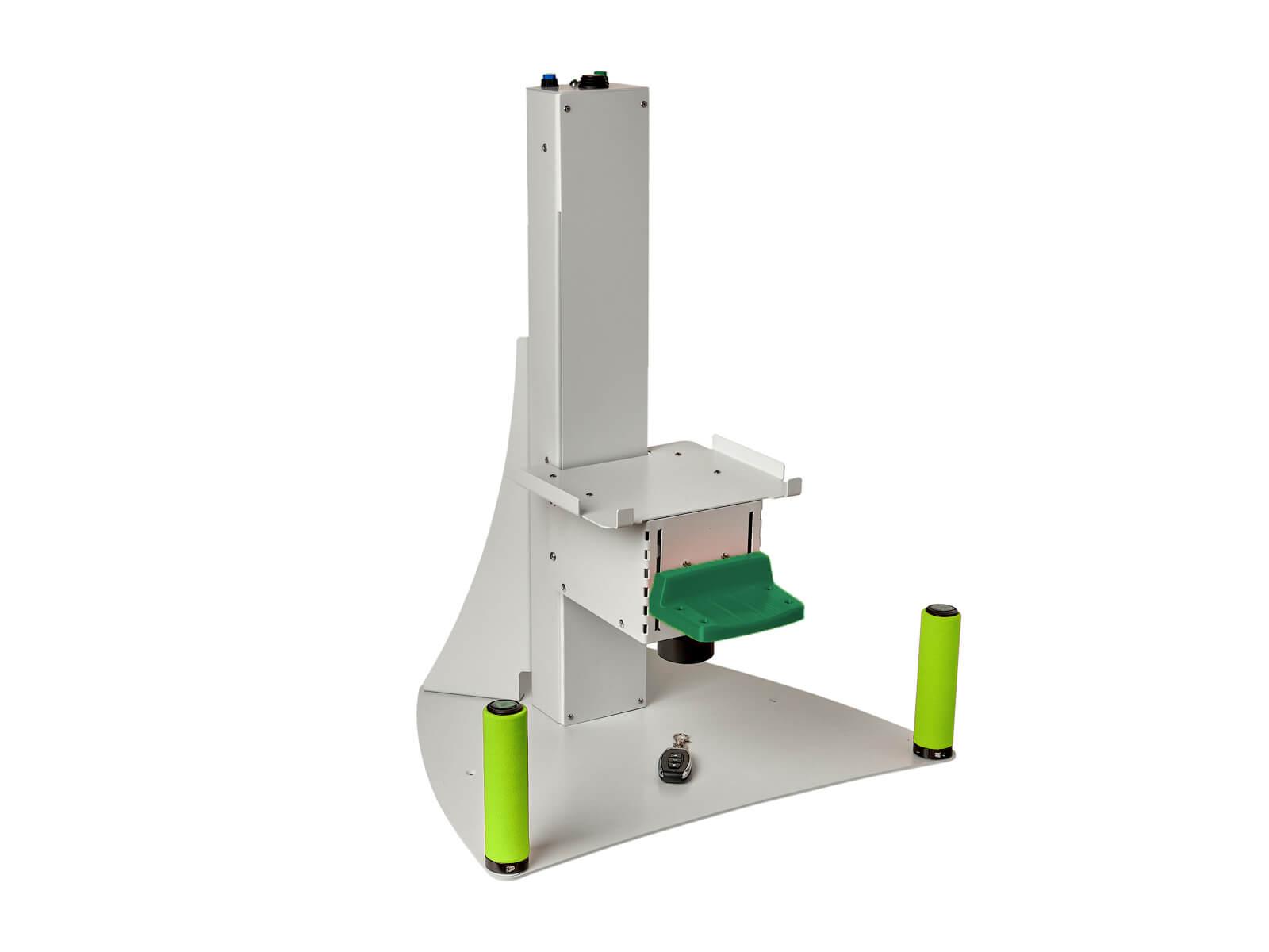 Штатив к аппарату МАКДЭЛ-09 зелёный без аппарата